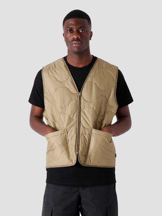 Stussy Quilted Liner Vest Coyote 115561-20014