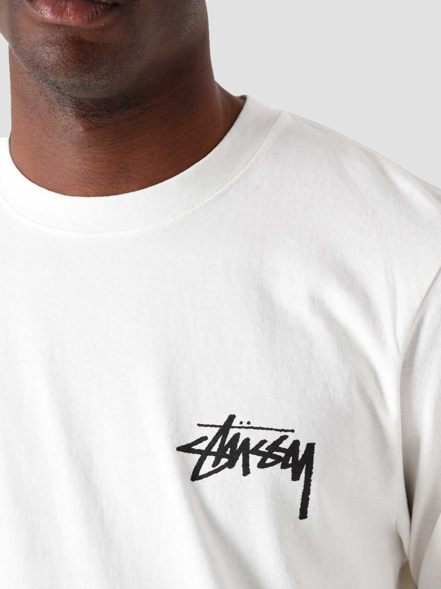 Stussy Stussy Spring Weeds Pig. Dyed Longsleeve T-Shirt Natural 1994680-1002