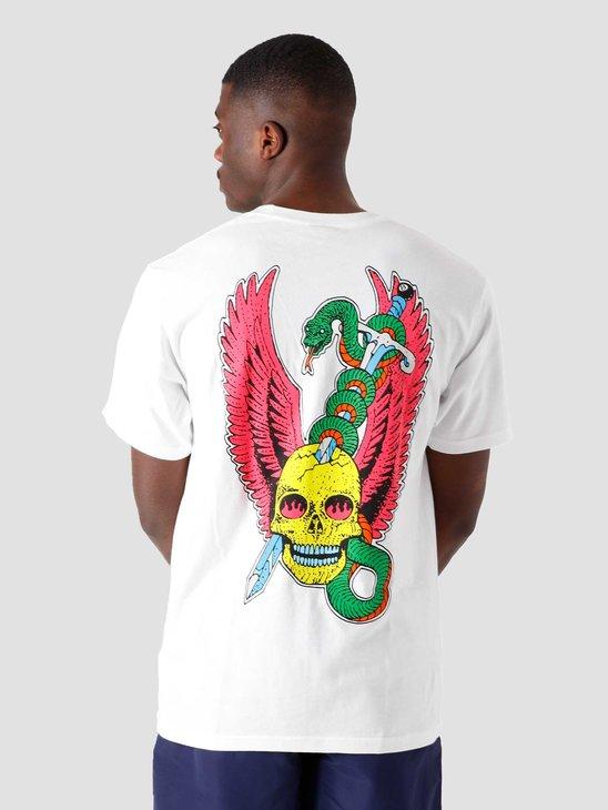 Stussy Snakebite T-Shirt White 1904668-1201