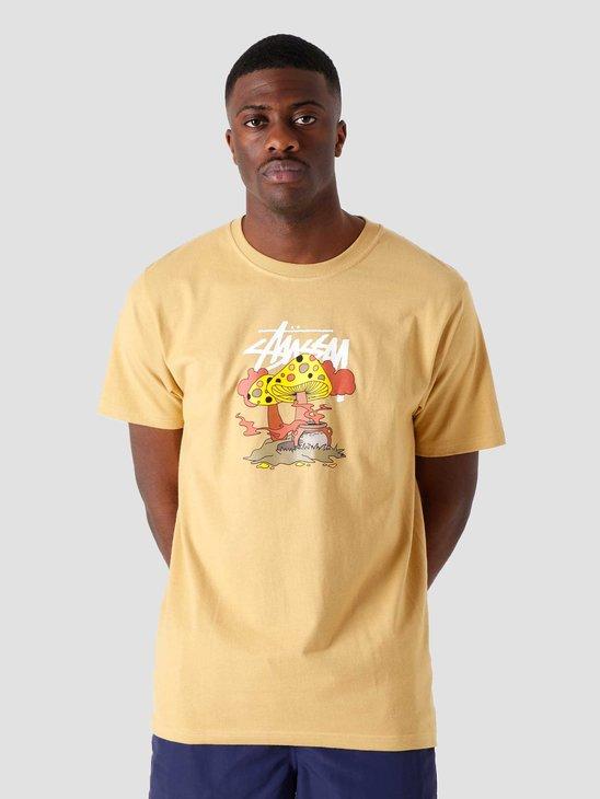 Stussy Something'S Cookin' T-Shirt Khaki 1904657-1007