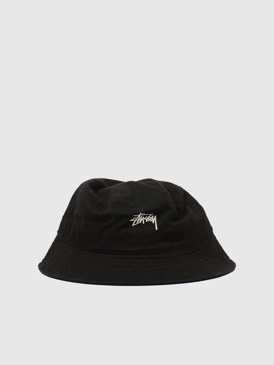 Stussy Stock Bucket Hat Black 1321023-0001