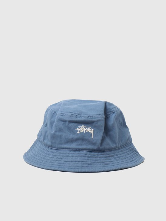 Stussy Stock Bucket Hat Blue 1321023-0801