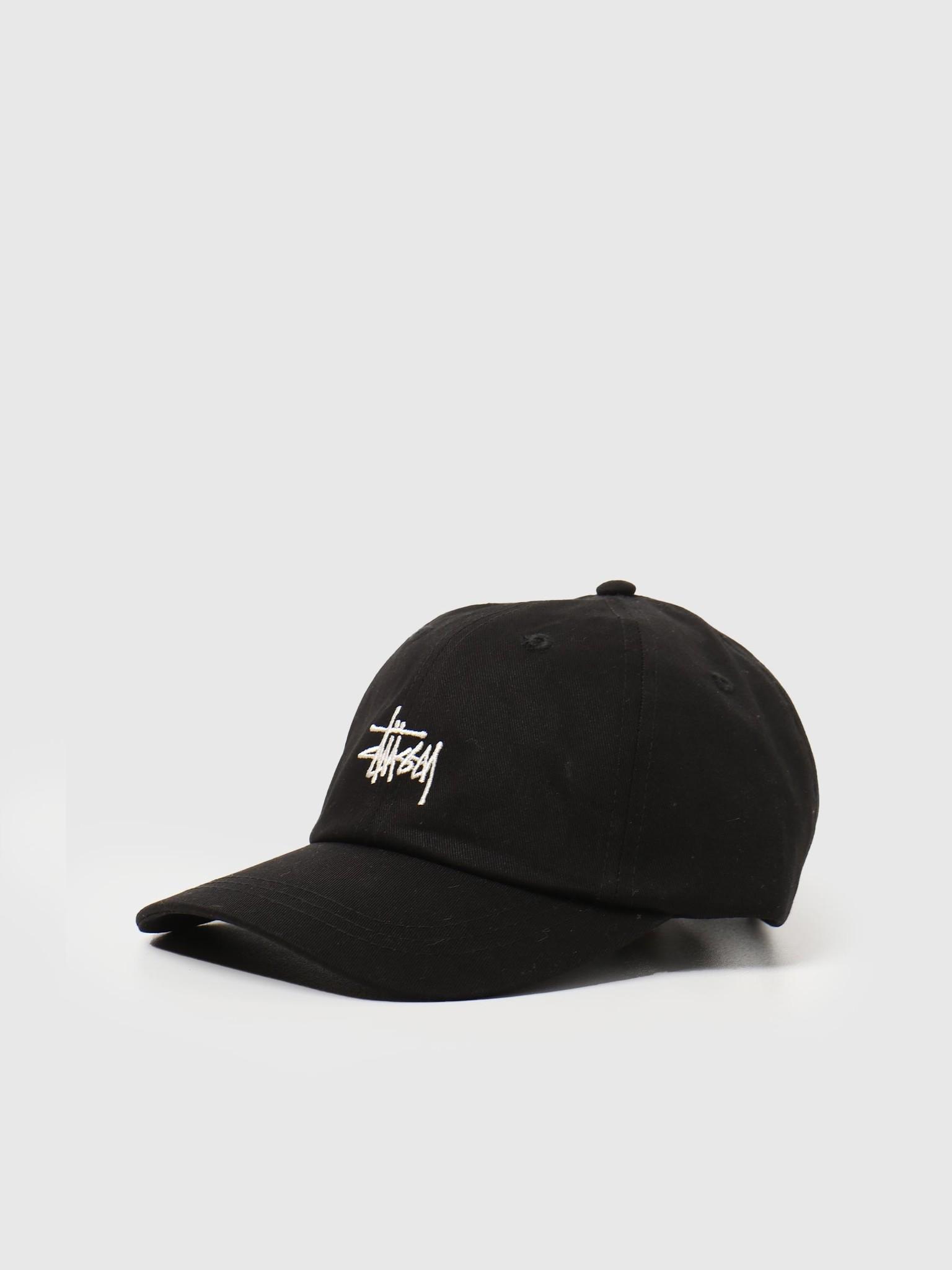 Stussy Stussy Stock Low Pro Cap Black 131982-0001