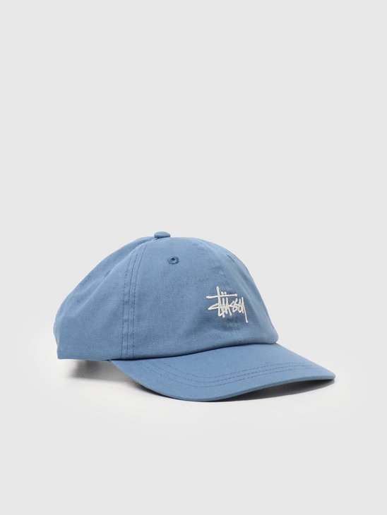 Stussy Stock Low Pro Cap Blue 131982-0801