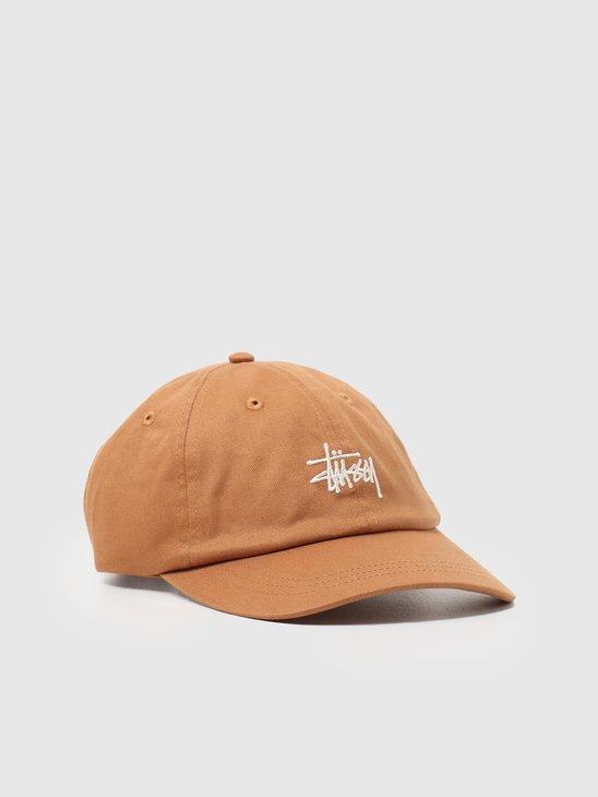 Stussy Stock Low Pro Cap Khaki 131982-1007