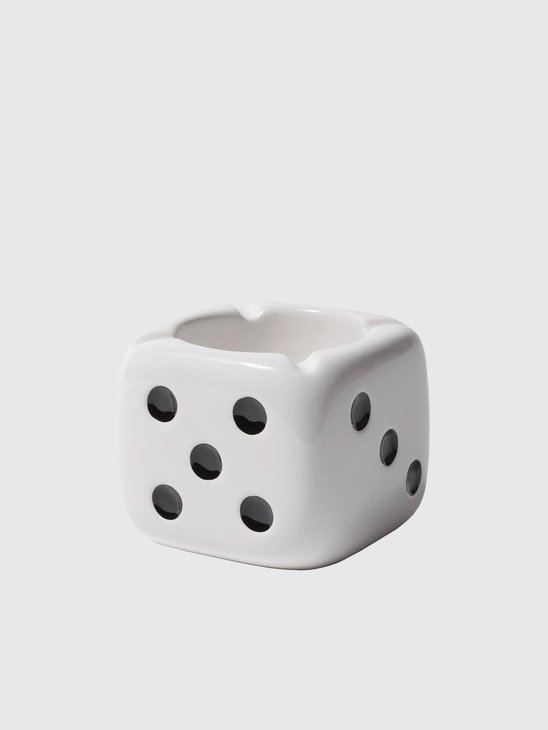 Stussy Ceramic Dice Ashtray White 138743-1201