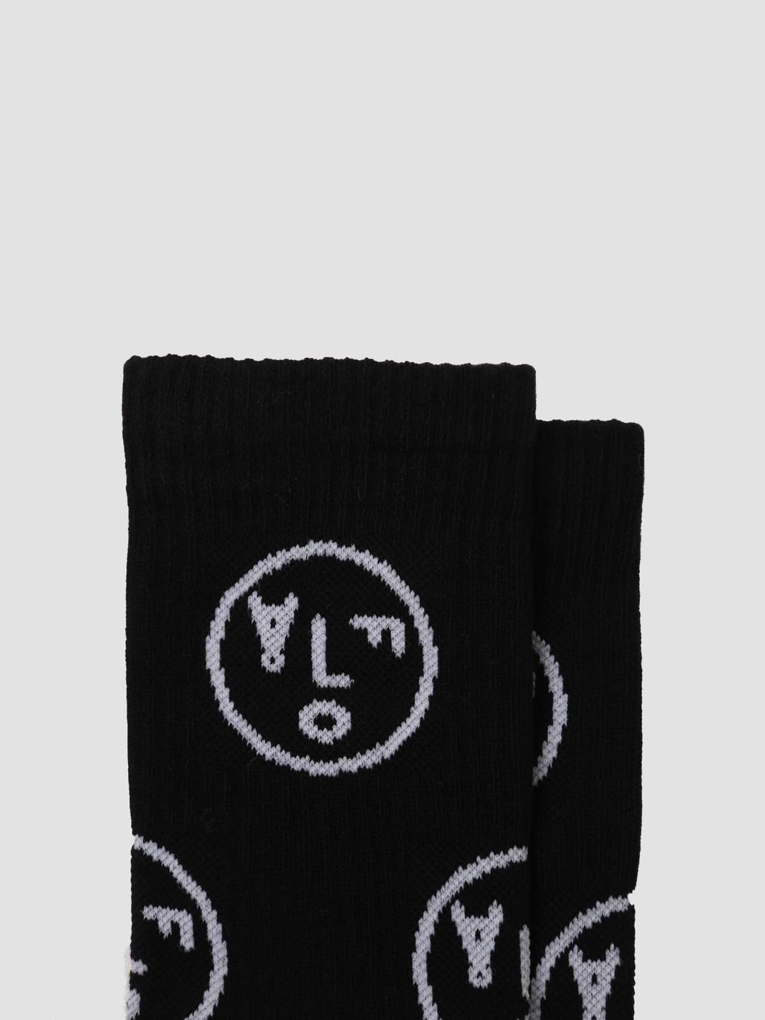 Olaf Hussein Olaf Hussein OH Face Socks Black