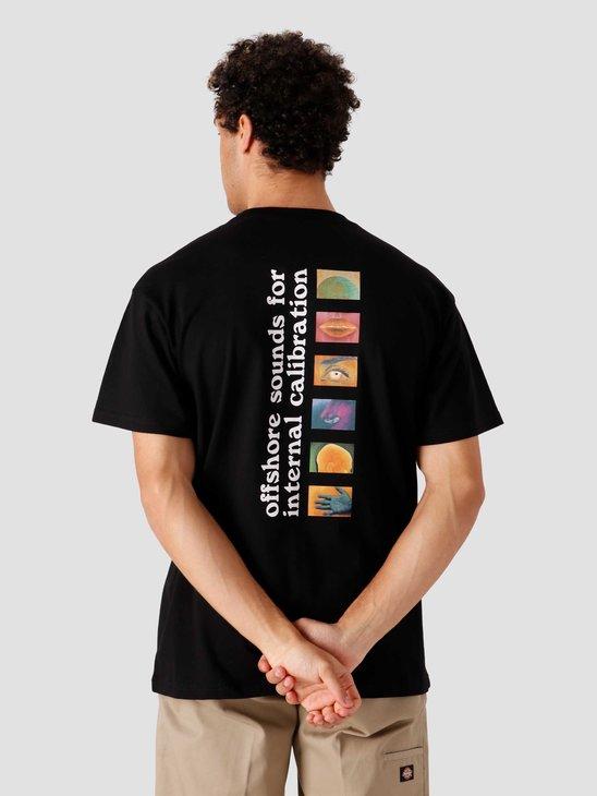 Carhartt WIP SS Calibrate T-Shirt Black I029017-8900