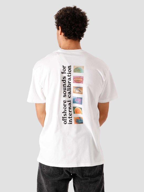 Carhartt WIP SS Calibrate T-Shirt White I029017-200