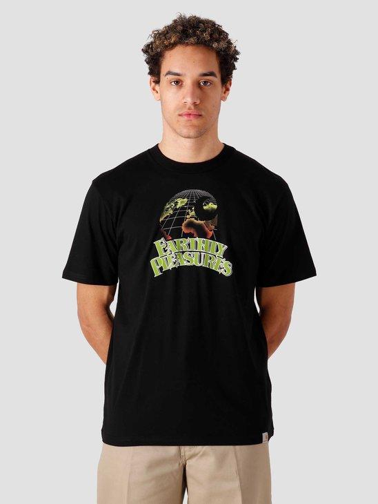 Carhartt WIP SS Earthly Pleasures T Shirt Black I029018-8900