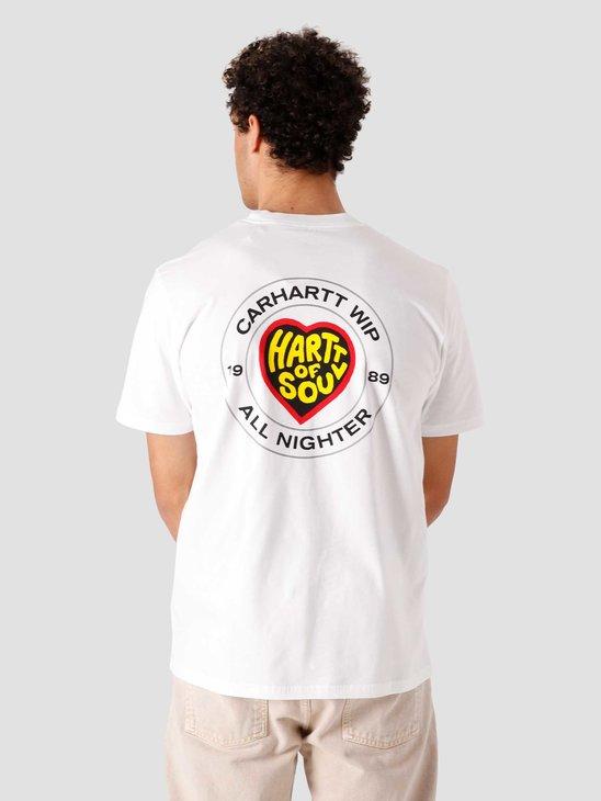 Carhartt WIP SS Hartt Of Soul T-Shirt White I029036-200