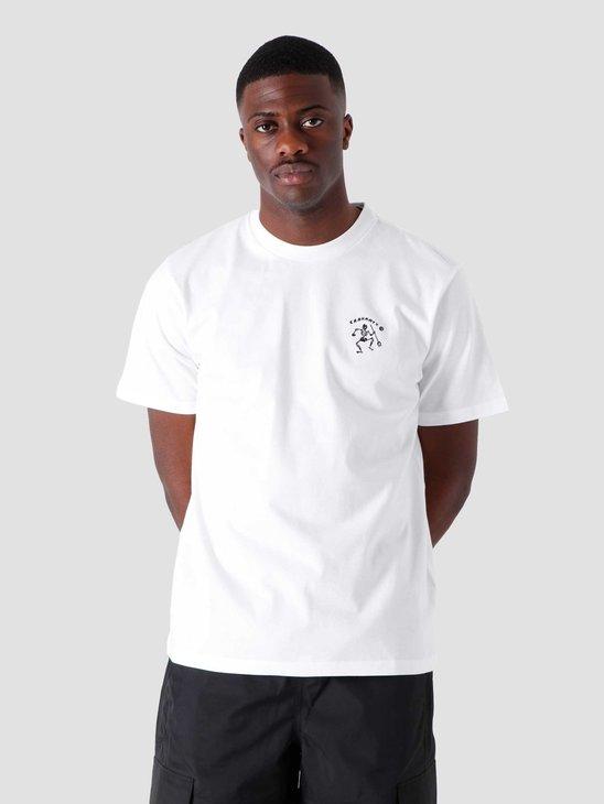 Carhartt WIP SS Misfortune T Shirt White I029065-200