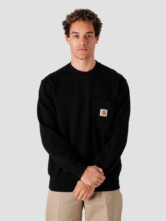 Carhartt WIP Pocket Sweat Black I027681-8900