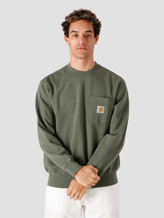 Carhartt WIP Pocket Sweat Dollar Green I027681-66700