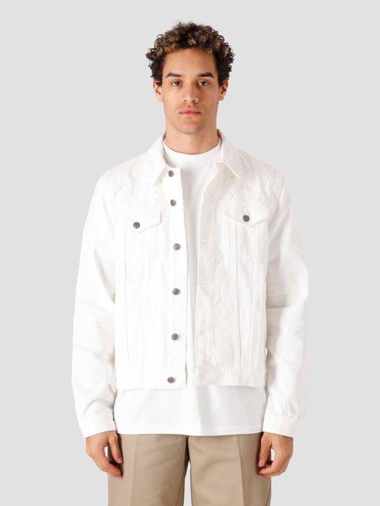 Daily Paper Kajean Jeans Jacket White 2111153