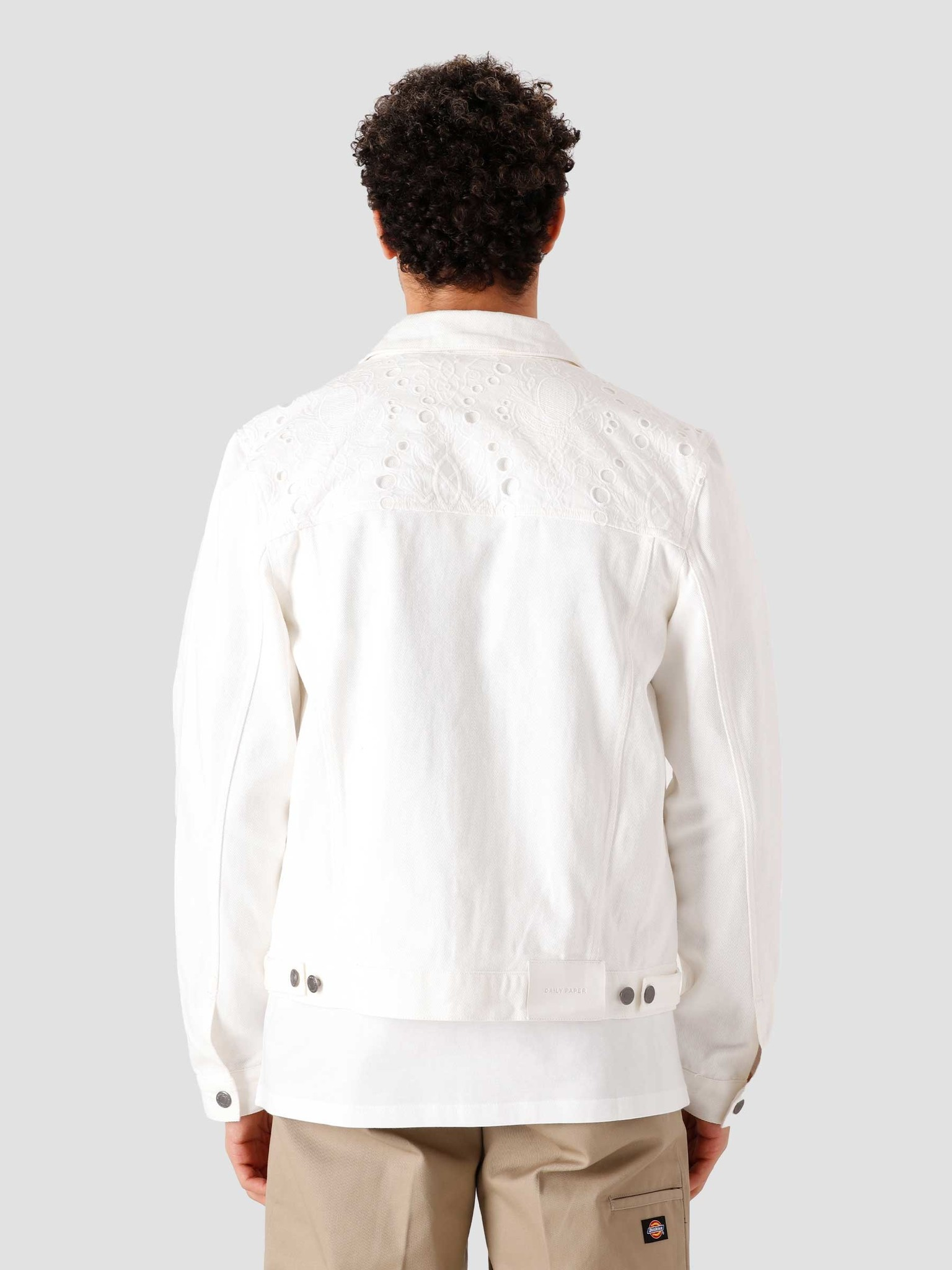 Daily Paper Daily Paper Kajean Jeans Jacket White 2111153