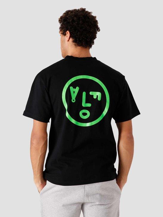 Olaf Hussein OLAF Face T-Shirt Black