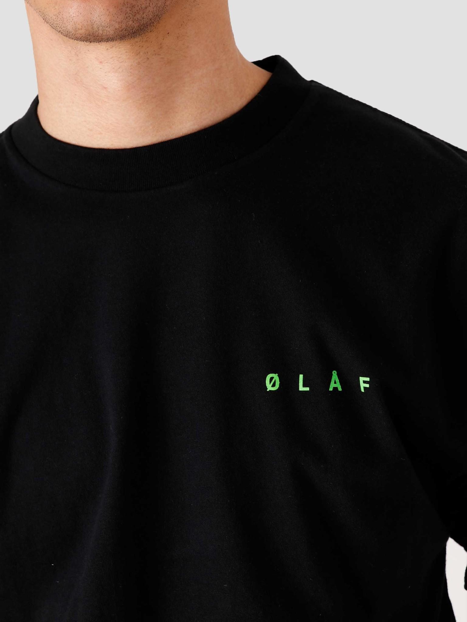 Olaf Hussein Olaf Hussein OLAF Face T-Shirt Black