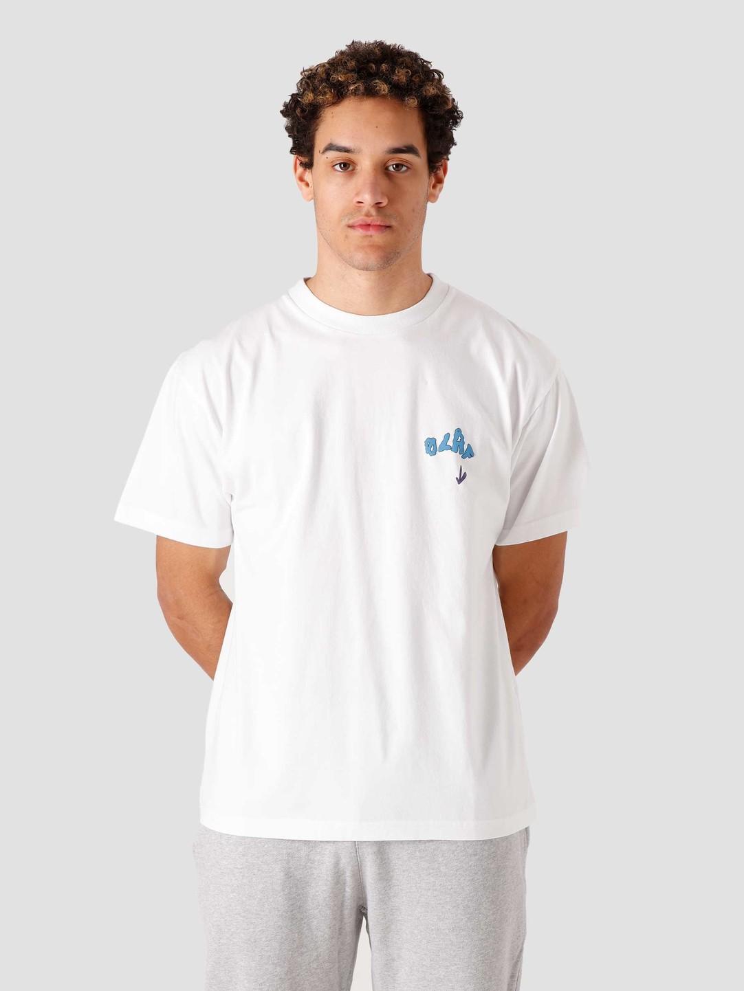 Olaf Hussein Olaf Hussein OLAF Terra T-Shirt White