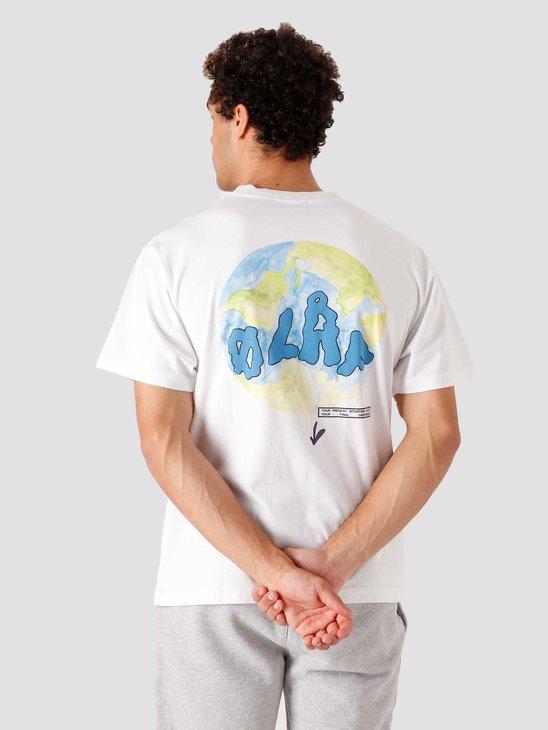 Olaf Hussein OLAF Terra T-Shirt White