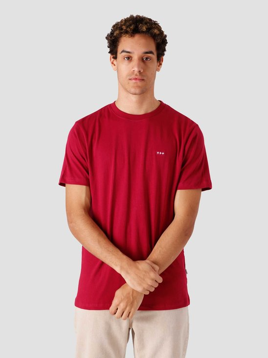 Quality Blanks QB03 Patch Logo T-shirt Berry