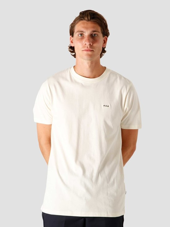 Quality Blanks QB03 Patch Logo T-shirt Off White