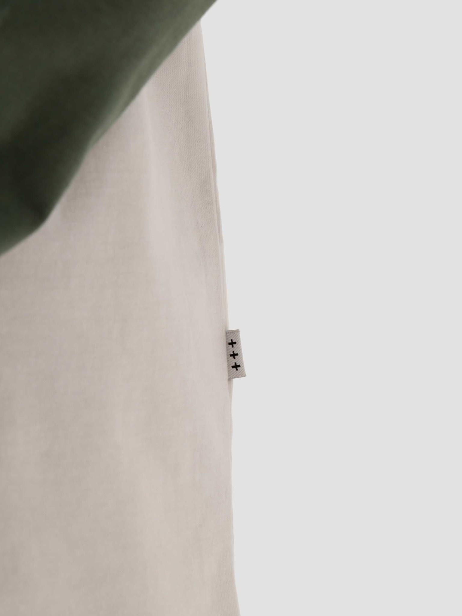 Quality Blanks Quality Blanks QB09 Patch Logo Baseball Longsleeve Light Olive/White
