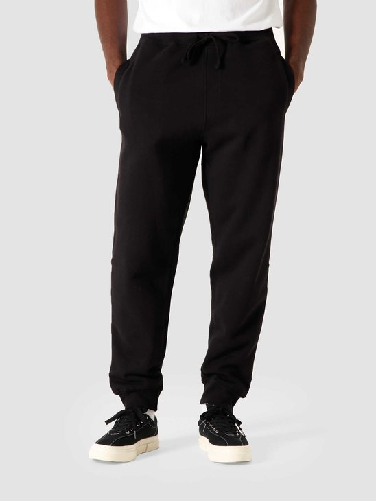 Quality Blanks QB33 Patch Logo Sweat pant Black