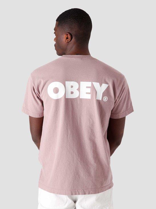 Obey Obey Bold T-Shirt Gallnut 166912349-GLN