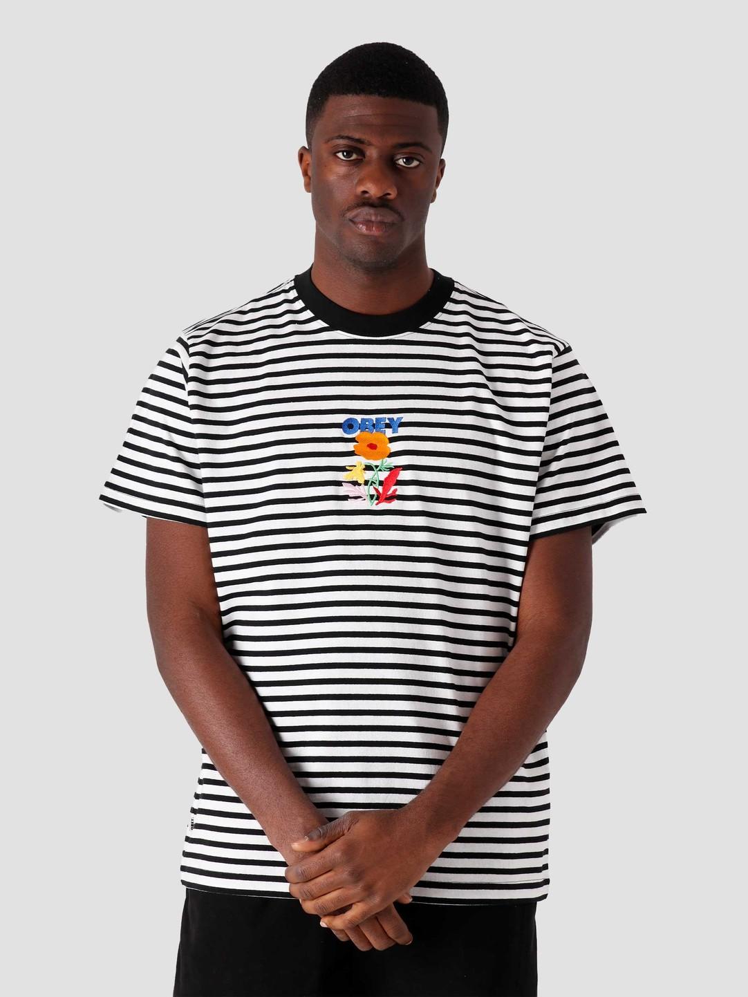 Obey Obey Corban T-Shirt Black Multi 131080292-BKM