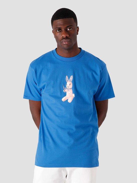 Obey Mascot T-Shirt Royal Blue 165262618-RYL