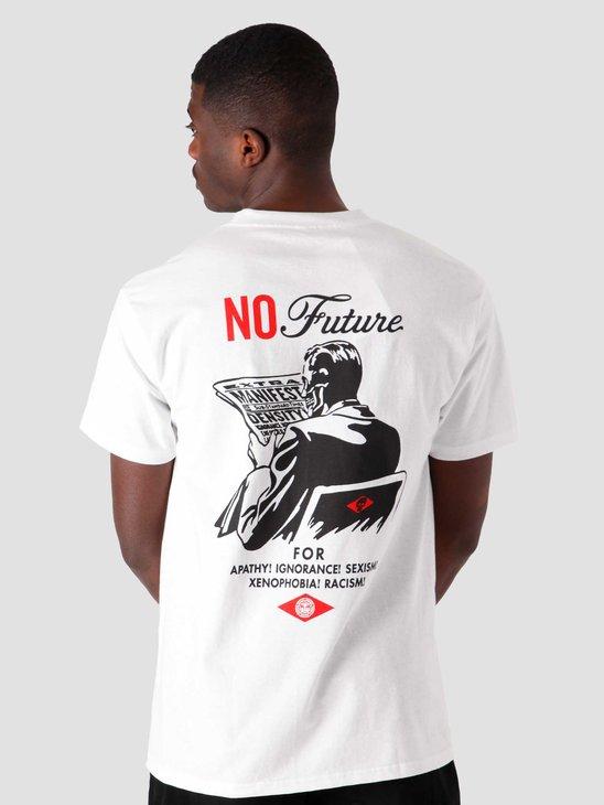 Obey No Future T-Shirt White 165262582-WHT