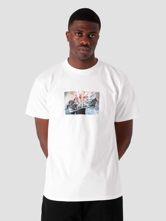 Obey No News Is Good News T-Shirt White 165262625-WHT