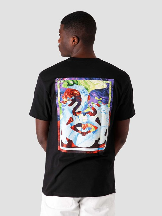 Obey Obey Statue Icon T-Shirt Black 165262589-BLK