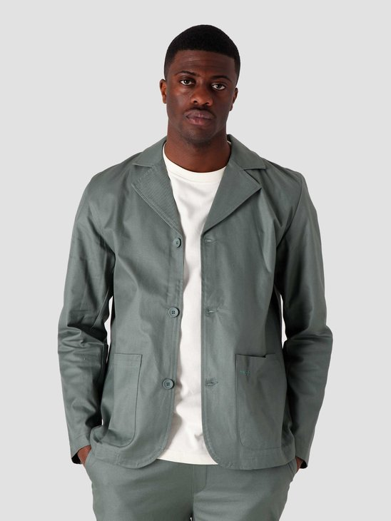 Quality Blanks QB208 Suit Jacket Olive Green