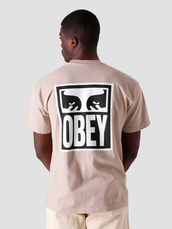 Obey Obey Eyes Icon 2 T-Shirt Humus 166912142-HUM