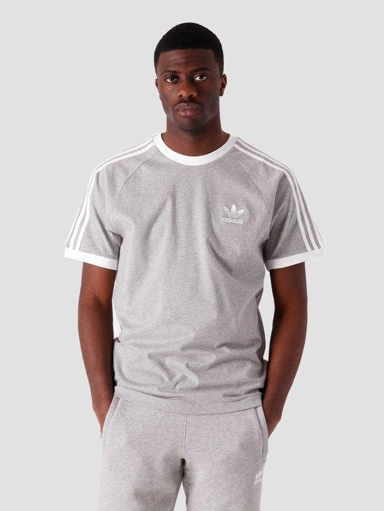 adidas 3 Stripes T-Shirt Grey GN3493