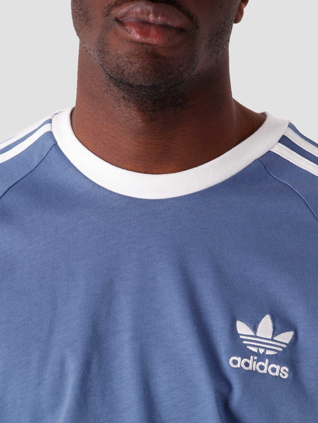 adidas adidas 3 Stripes T-Shirt Creblue GN3501