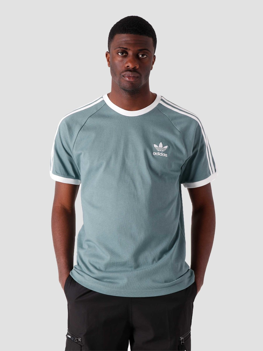 adidas adidas 3-Stripes T-Shirt Hazy Emerald GN3479