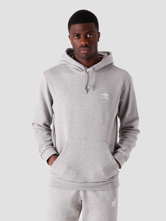adidas Essential Hoody Midnight Grey Heather FM9958