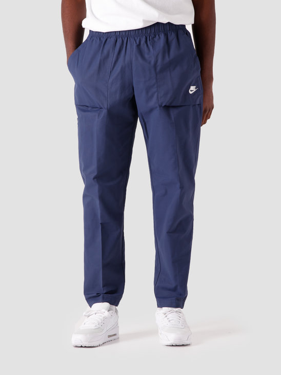 Nike NSW Ce Woven Pant Players Midnight Navy White CZ9927-410