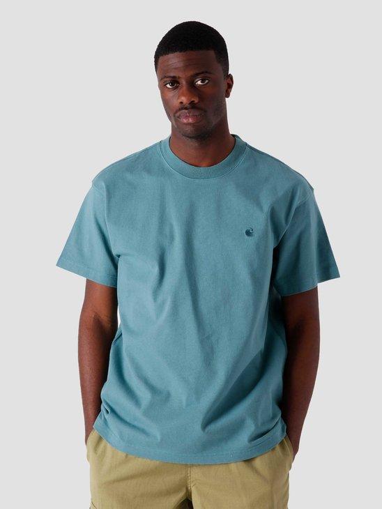 Carhartt WIP SS Sedona T Shirt Hydro I029010-0AC00