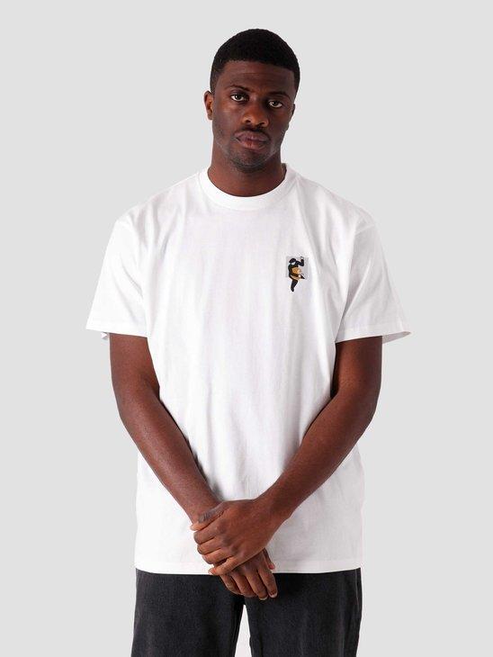 Carhartt WIP SS Teef T Shirt White I029025-200