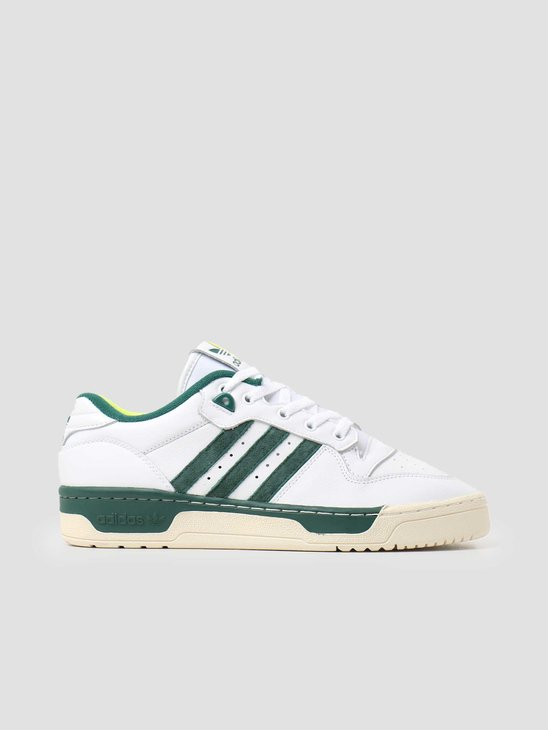 adidas Rivalry Low Premium White Green FY8030