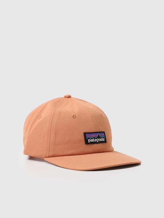 Patagonia P-6 Label Trad Cap Toasted Peach 38296