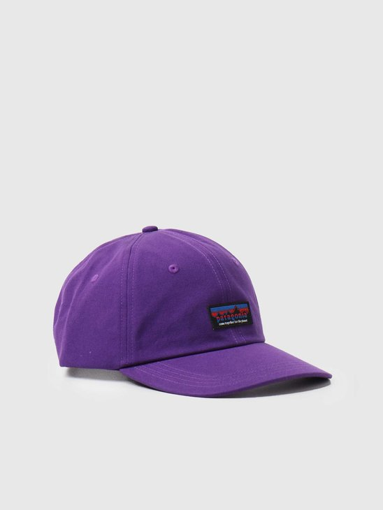 Patagonia Together for the Planet Label Trad Cap Purple 38320