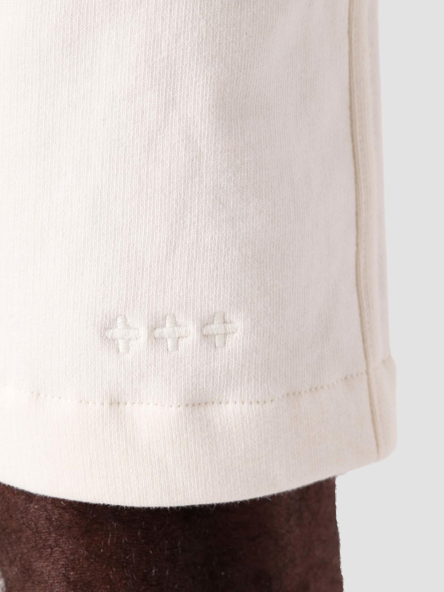 Quality Blanks Quality Blanks QB30 Sweat Short Light Off White