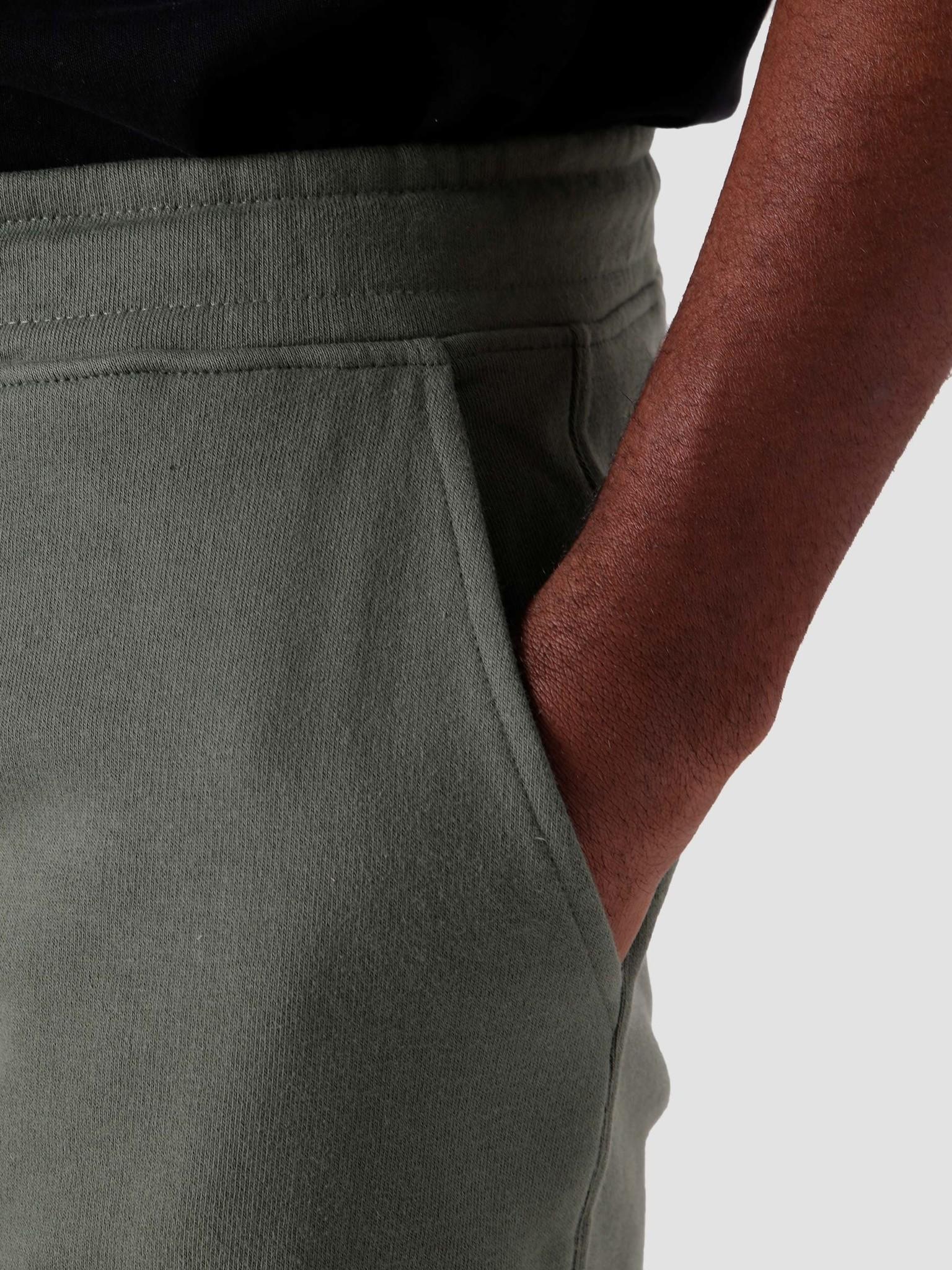 Quality Blanks Quality Blanks QB30 Sweat Short Light Olive