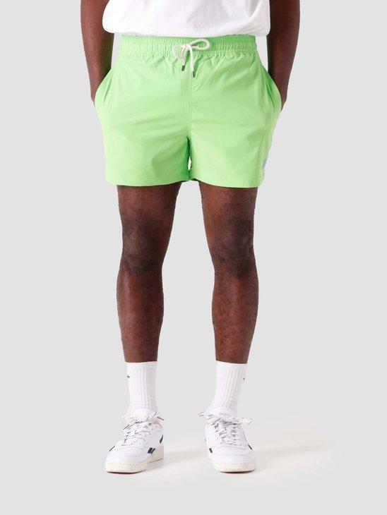 Polo Ralph Lauren Recycled Polyester Traveler Short Kiwi Lime 710837404006