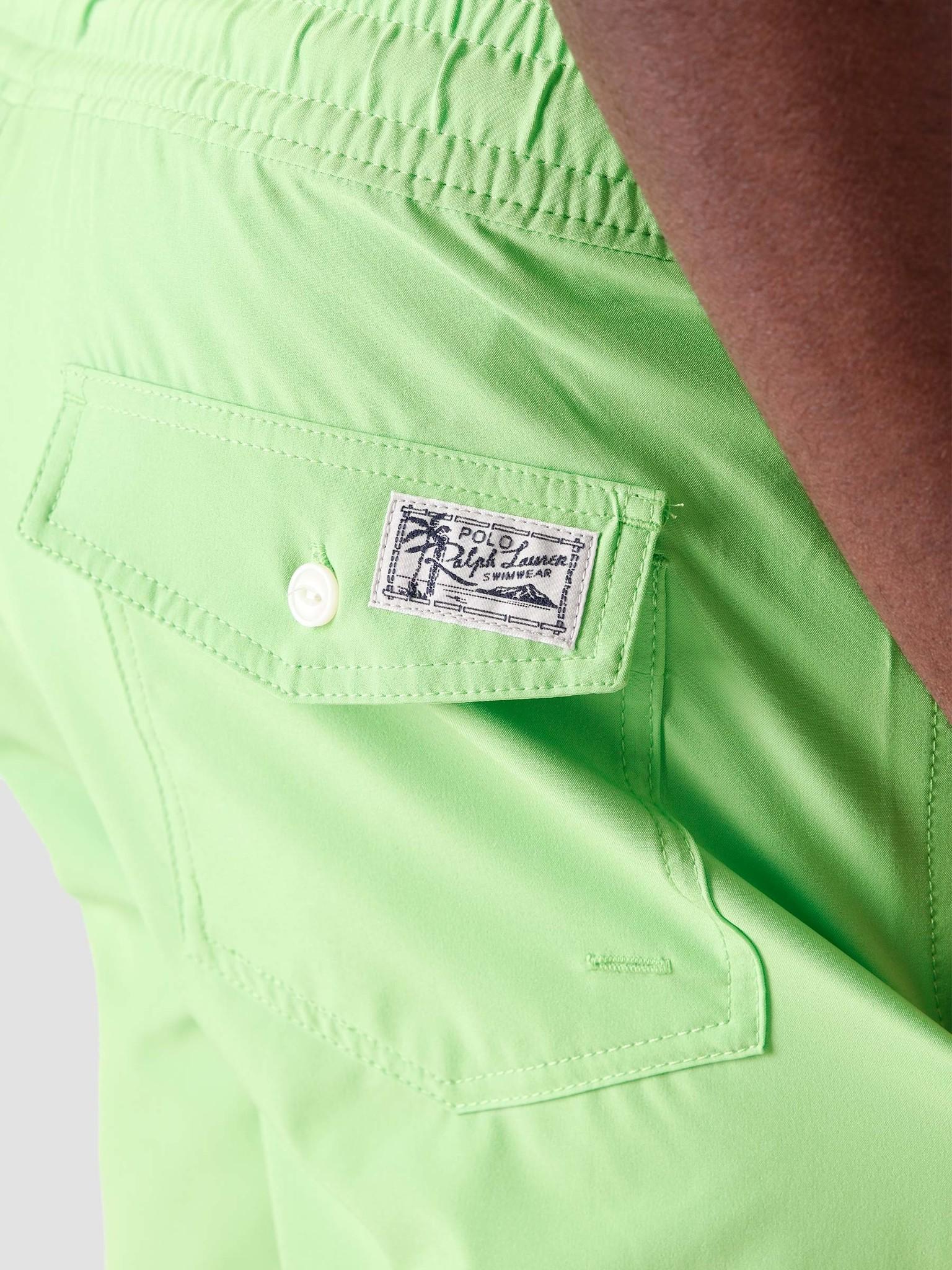 Polo Ralph Lauren Polo Ralph Lauren Recycled Polyester Traveler Short Kiwi Lime 710837404006